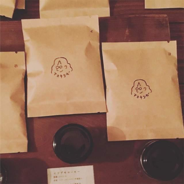 作品写真2_コーヒー豆袋詰.JPG